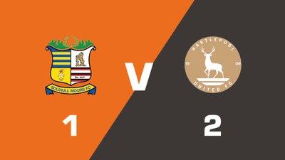 Highlights: Solihull Moors vs Hartlepool United
