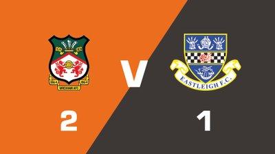 Highlights: Wrexham vs Eastleigh