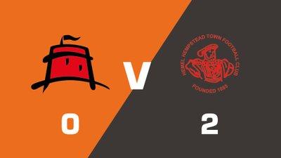 Highlights: Eastbourne Borough vs Hemel Hempstead Town