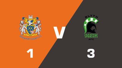 Highlights: Stockport County vs Blyth Spartans
