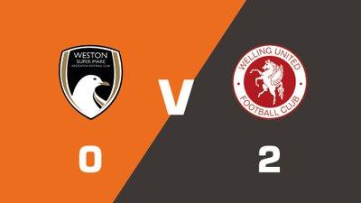 Highlights: Weston-Super-Mare vs Welling United