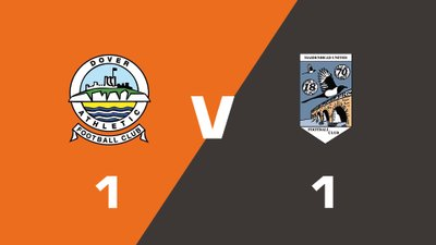 Highlights: Dover Athletic vs Maidenhead United