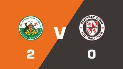 Highlights: Bradford Park Avenue vs Brackley Town
