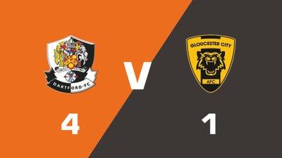 Highlights: Dartford vs Gloucester City