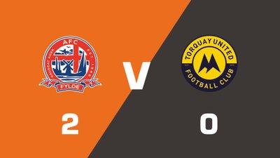 Highlights: AFC Fylde vs Torquay United