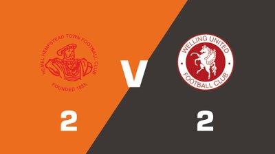 Highlights: Hemel Hempstead Town vs Welling United