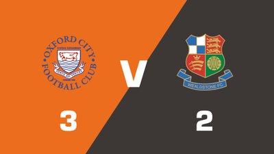 Highlights: Oxford City vs Wealdstone