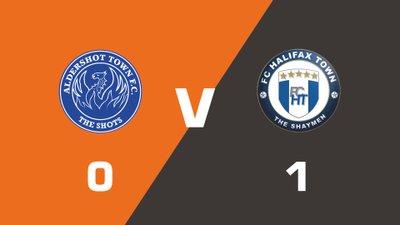 Highlights: Aldershot Town vs FC Halifax Town