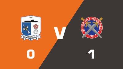 Highlights: Barrow vs Dagenham and Redbridge