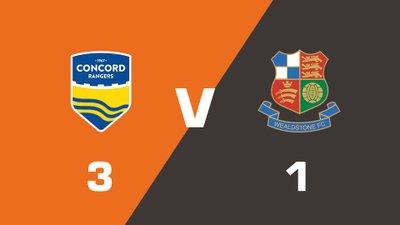 Highlights: Concord Rangers vs Wealdstone