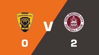 Highlights: Gloucester City vs Chelmsford City
