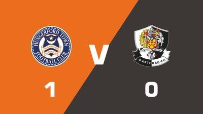 Highlights: Hungerford Town FC vs Dartford