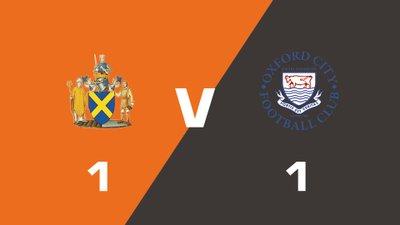 Highlights: St. Albans City vs Oxford City