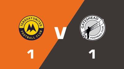 Highlights: Torquay United vs Gateshead