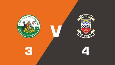 Highlights: Bradford Park Avenue vs Tamworth