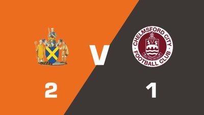 Highlights: St. Albans City vs Chelmsford City