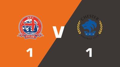 Highlights: AFC Fylde vs Chester