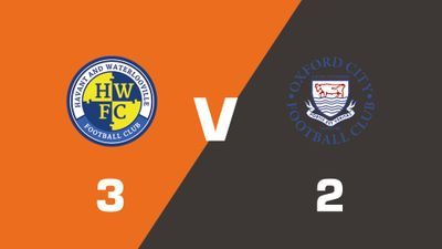 Highlights: Havant & Waterlooville vs Oxford City