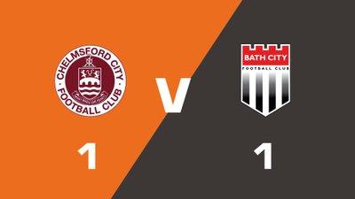 Highlights: Chelmsford City vs Bath City