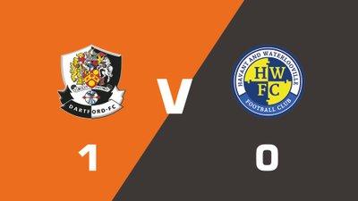 Highlights: Dartford vs Havant & Waterlooville
