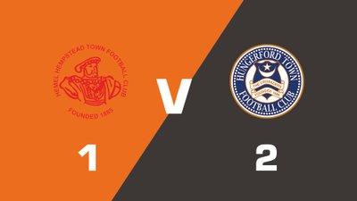 Highlights: Hemel Hempstead Town vs Hungerford Town FC