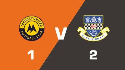 Highlights: Torquay United vs Eastleigh