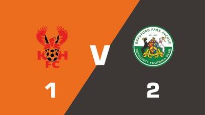 Highlights: Kidderminster Harriers vs Bradford Park Avenue