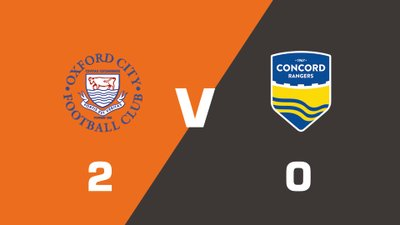Highlights: Oxford City vs Concord Rangers