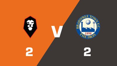 Highlights: Salford City vs Braintree Town