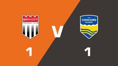 Highlights: Bath City vs Concord Rangers
