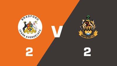 Highlights: Bradford (Park Avenue) vs Southport