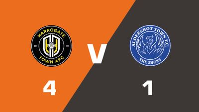 Highlights: Harrogate Town vs Aldershot Town