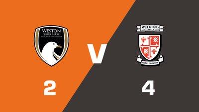 Highlights: Weston-super-Mare AFC vs Woking