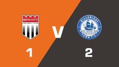 Highlights: Bath City vs Billericay Town