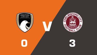 Highlights: Weston-super-Mare AFC vs Chelmsford City