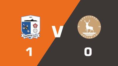 Highlights: Barrow vs Hartlepool United