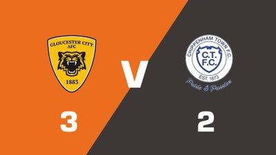 Highlights: Gloucester City vs Chippenham Town