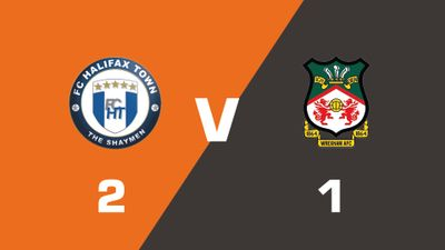Highlights: FC Halifax Town vs Wrexham
