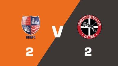Highlights: Hampton & Richmond Borough vs Truro City