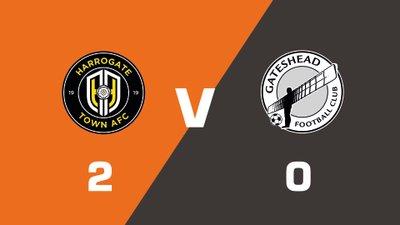 Highlights: Harrogate Town vs Gateshead