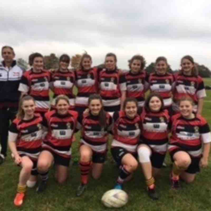 Frome RFC Girls U16s v Bradford on Avon RFC Girls U16s