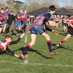 Lytchett Minster RFC U16's v Frome RFC U16's