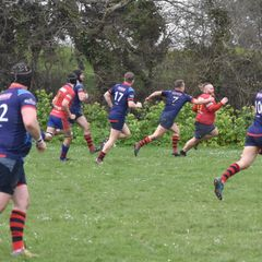 DSRFC II v St Columba. March 19. Defiance field
