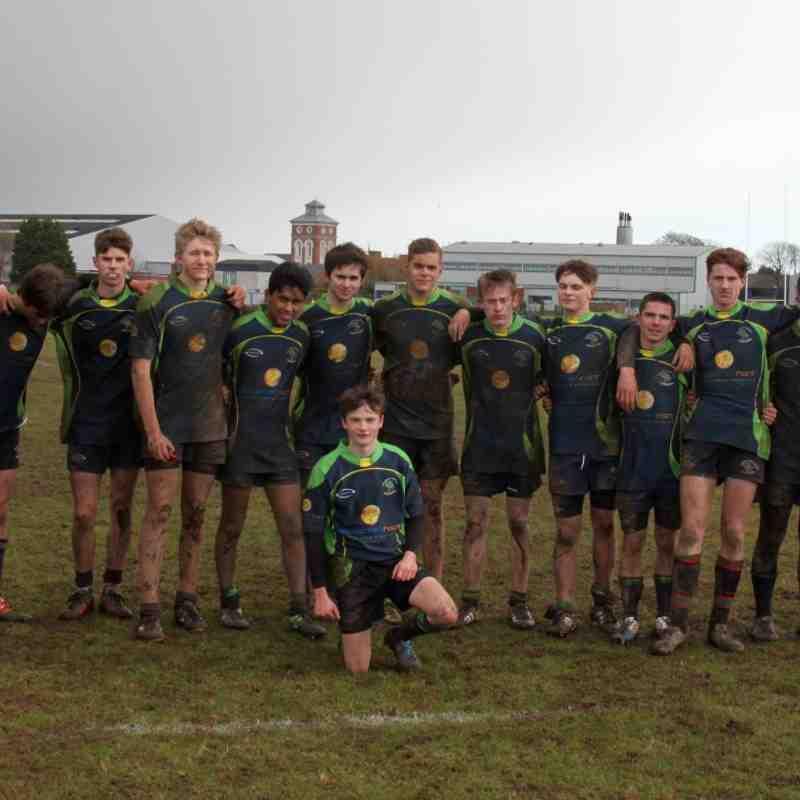 U16's V Fareham & Gosport 05.03.17