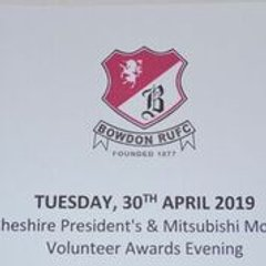 Cheshire Presidents Volunteer Awards 2019