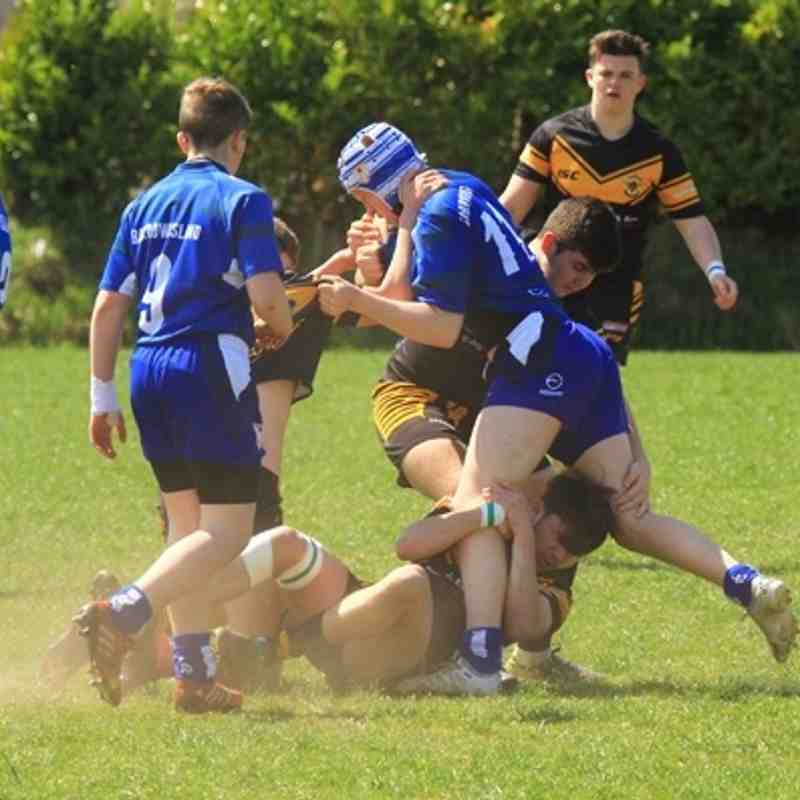 Season 2016 u16s League Wath Brow v Barrow Island