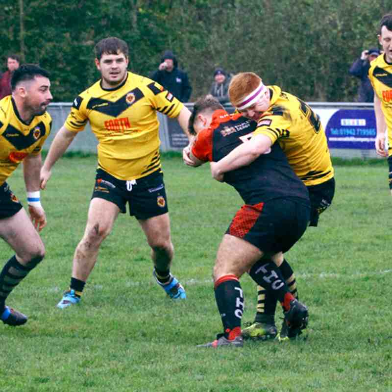 Season 2017 NCL Premier League final eliminator play off Thatto Heath v Wath Brow
