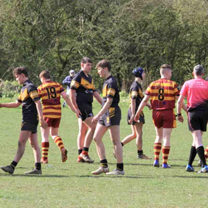 Season 2019 u16s League Seaton v Wath Brow