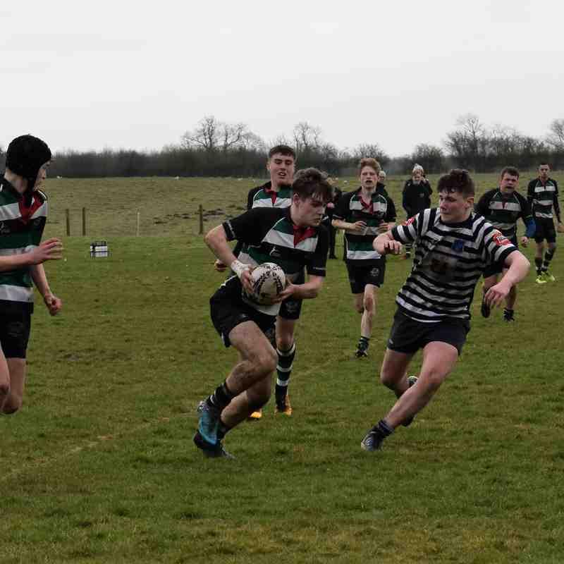 Under 16s v Pocklington (11/3/18)