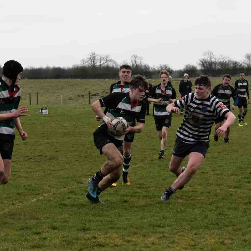 Under 16s v Pocklington (11/3/18)